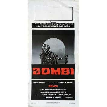 ZOMBIE Affiche de film - 33x71 cm. - 1979 - George A. Romero