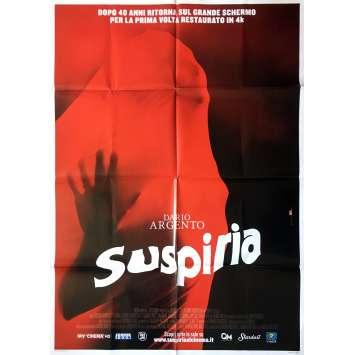 SUSPIRIA Movie Poster - 39x55 in. - R2010 - Dario Argento, Jessica Harper