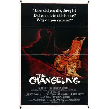 THE CHANGELING - L'ENFANT DU DIABLE Affiche de film - 69x104 cm. - 1980 - George C. Scott, Peter Medak