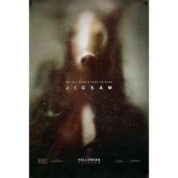 JIGSAW Movie Poster Teaser - 29x41 in. - 2017 - Michael Spierig, Laura Vandervoort