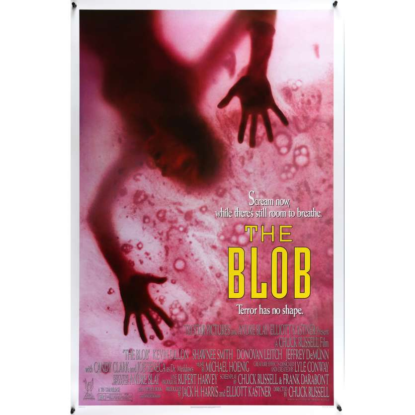 BLOB US Movie Poster 29x41 - 1988 - Chuck Russell, Kevin Dillon