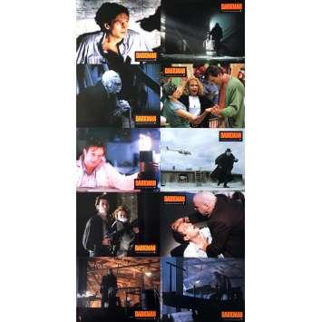 DARKMAN Lobby Cards x10 - 9x12 in. - 1990 - Sam Raimi, Liam Neeson