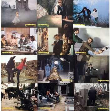 FRANKENSTEIN 90 Lobby Cards x12 - 9x12 in. - 1984 - Alain Jessua, Jean Rochefort