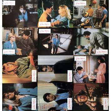 DEADLY FRIEND Lobby Cards x12 - 9x12 in. - 1986 - Wes Craven, Matthew Labyorteaux