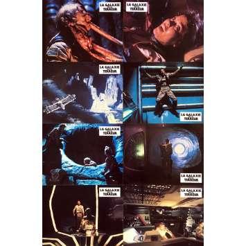 LA GALAXIE DE LA TERREUR Photos de film x8 - 21x30 cm. - 1981 - Edward Albert, Roger Corman