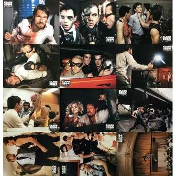 CLASS 1984 Photos de film x12 - 21x30 cm. - 1982 - Perry King, Mark Lester