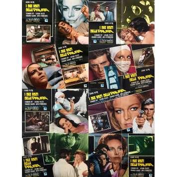 LES DEUX VISAGES DE LA PEUR Photobustas x8 - 46x64 cm. - 1972 - George Hilton, Tulio Demicheli