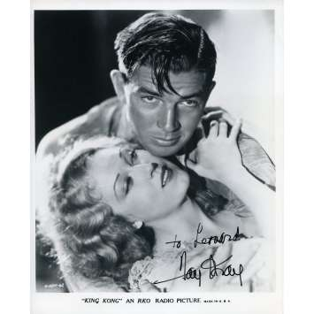 KING KONG Signed Photo - 8x10 in. - R1980 - Merian C. Cooper, Fay Wray