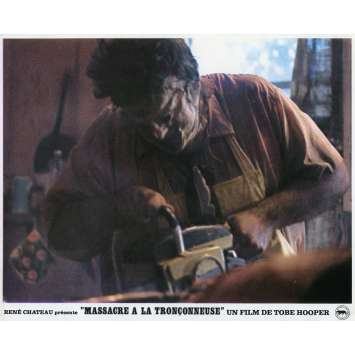 THE TEXAS CHAINSAW MASSACRE Lobby Card N01 - 9x12 in. - 1974 - Tobe Hooper, Marilyn Burns