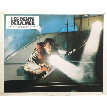 LES DENTS DE LA MER Photo de film N04 - 21x30 cm. - 1975 - Roy Sheider, Steven Spielberg
