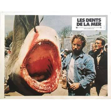 LES DENTS DE LA MER Photo de film N02 - 21x30 cm. - 1975 - Roy Sheider, Steven Spielberg