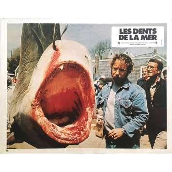LES DENTS DE LA MER Photo de film N02 - 21x30 cm. - 1975 - Roy Sheider, Steven Spielberg
