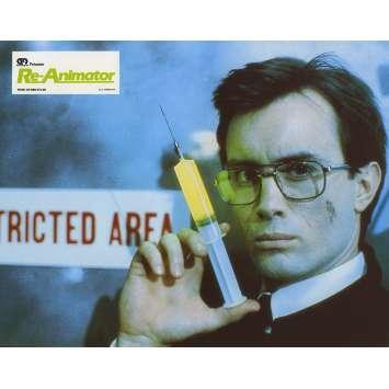 RE-ANIMATOR Lobby Card N03 - 9x12 in. - 1985 - Stuart Gordon, Jeffrey Combs