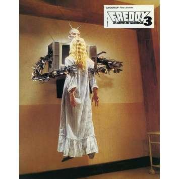FREDDY 3 LES GRIFFES DU CAUCHEMAR Photo de film N08 - 21x30 cm. - 1987 - Robert Englund, Chuck Russel