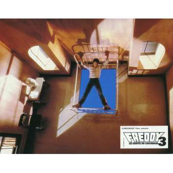A NIGHTMARE ON ELM STREET 3 DREAM WARRIORS Lobby Card N05 - 9x12 in. - 1987 - Chuck Russel, Robert Englund