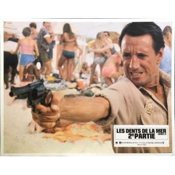 LES DENTS DE LA MER 2E PARTIE Photo de film N05 - 21x30 cm. - 1978 - Roy Sheider, Jeannot Szwarc