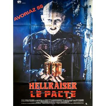 HELLRAISER French Movie Poster 47x63 - 1987 - Clive Barker, Doug Bradley
