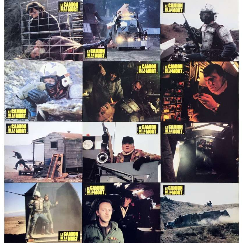 BATTLETRUCK Lobby Cards Set 9x12 x9 '81 Post apocalyptic sci-fi