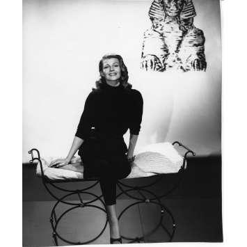 RITA HAYWORTH Photo de presse N03 - 20x25 cm. - 1954 - 0, 0