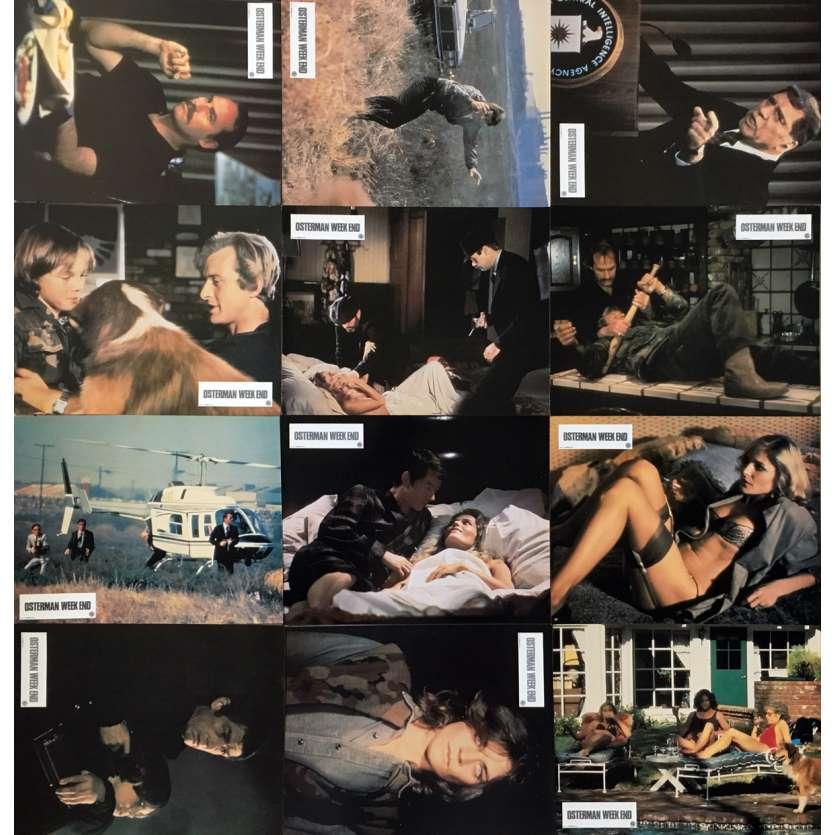 OSTERMAN WEEKEND Photos de film x12 - 21x30 cm. - 1983 - Rutger Hauer, Sam Peckinpah