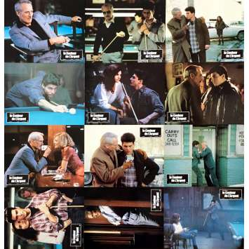 THE COLOR OF MONEY Lobby Cards x12 - 9x12 in. - 1986 - Martin Scorsese, Paul Newman