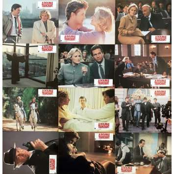 A DOUBLE TRANCHANT Photos de film x12 - 21x30 cm. - 1985 - Jeff Bridges, Richard Marquand