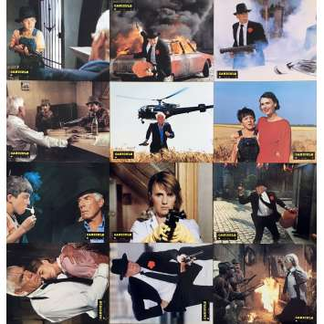 DOG DAY Lobby Cards x12 - 9x12 in. - 1984 - Yves Boisset, Lee Marvin