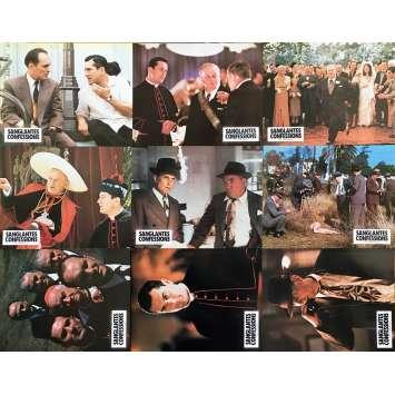 SANGLANTES CONFESSIONS Photos de film x9 - 21x30 cm. - 1981 - Robert de Niro, Ulu Grosbard