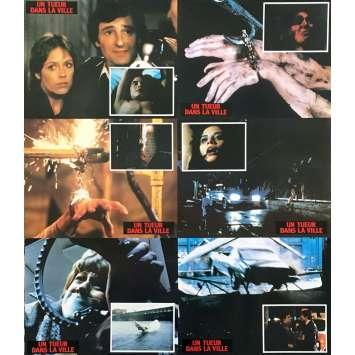 UN TUEUR DANS LA VILLE Photos de film x6 - 21x30 cm. - 1982 - Perry King, Armand Mastroianni