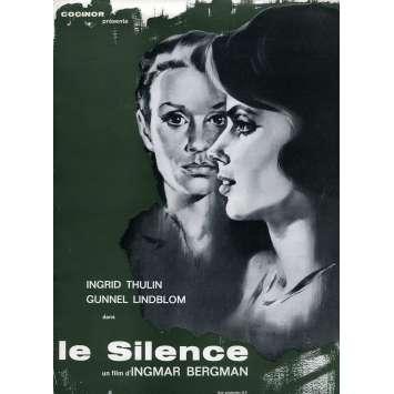 THE SILENCE Herald N01 - 9x12 in. - 1964 - Ingmar Bergman, Ingrid Thulin