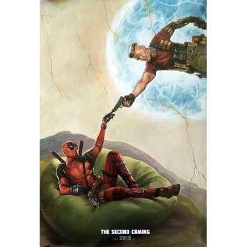 DEADPOOL 2 Affiche de Film US Prev. Style B - 68x101 cm - Ryan Reynolds