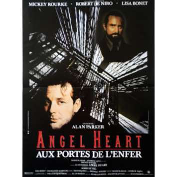 ANGEL HEART Original Movie Poster - 15x21 in. - 1987 - Alan Parker, Robert de Niro