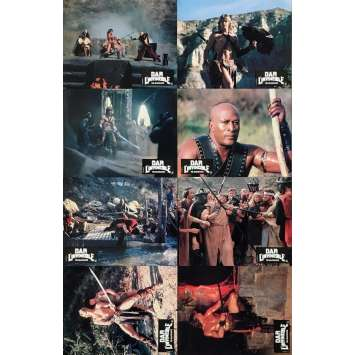 THE BEASTMASTER Original Lobby Cards x8 - 9x12 in. - 1982 - Don Coscarelli, Marc Singer