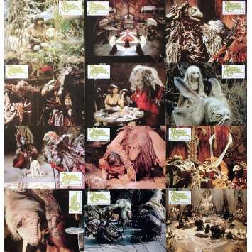 DARK CRYSTAL Original Lobby Cards x12 - 9x12 in. - 1982 - Jim Henson, Franck Oz