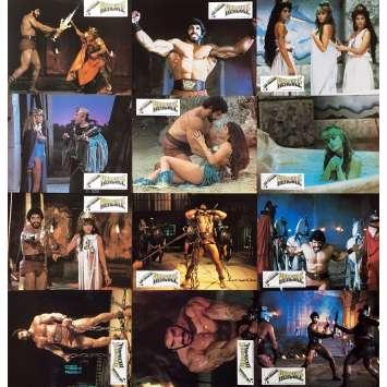 HERCULE Photos de film x12 - 21x30 cm. - 1983 - Lou Ferrigno, Luigi Cozzi