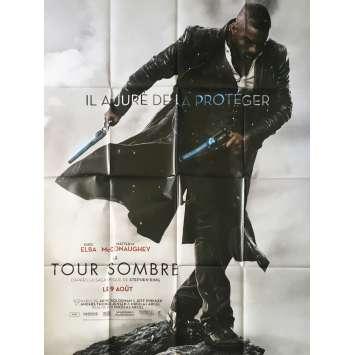 LA TOUR SOMBRE Affiche de film Préventive - 120x160 cm. - 2017 - Matthew McConaughey, Nikolaj Arcel