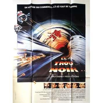 THE BLACK HOLE Original Movie Poster - 47x63 in. - 1981 - Walt Disney, Anthony Perkins