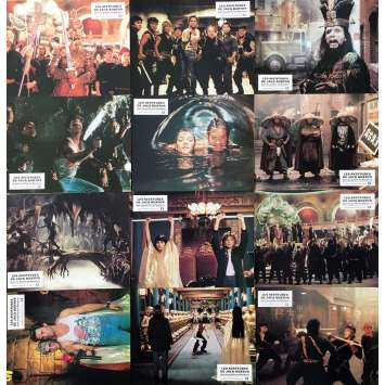 LES AVENTURES DE JACK BURTON Photos de film x12 - 21x30 cm. - 1986 - Kurt Russel, John Carpenter