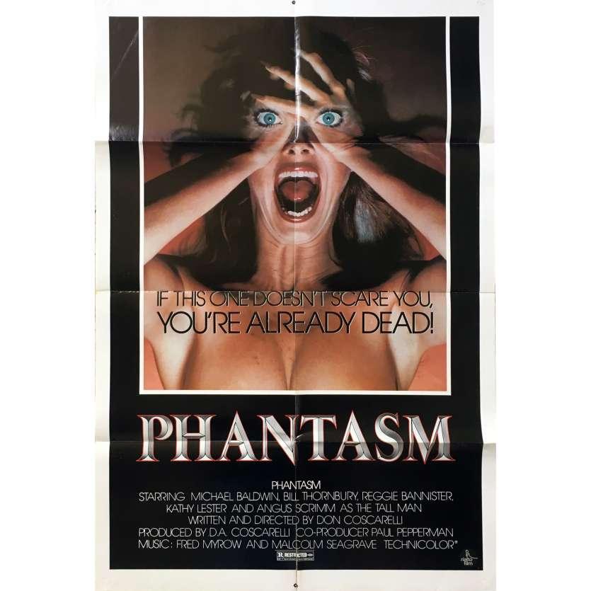 PHANTASM Affiche de film Style Alt. - 69x104 cm. - 1979 - Angus Scrimm, Don Coscarelli