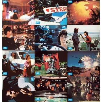 SHORT CIRCUIT Original Lobby Cards x12 - 9x12 in. - 1986 - John Badham, Steve Guttenberg