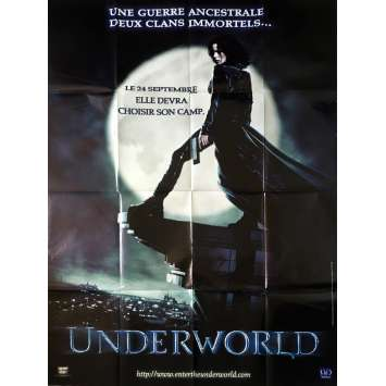 UNDERWORLD Affiche de film - 120x160 cm. - 2003 - Kate Beckinsale, Len Wiseman
