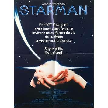 STARMAN Original Movie Poster - 15x21 in. - 1984 - John Carpenter, Jeff Bridges