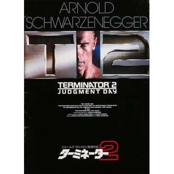 TERMINATOR 2 Programme - 21x30 cm. - 1992 - Arnold Schwarzenegger, James Cameron