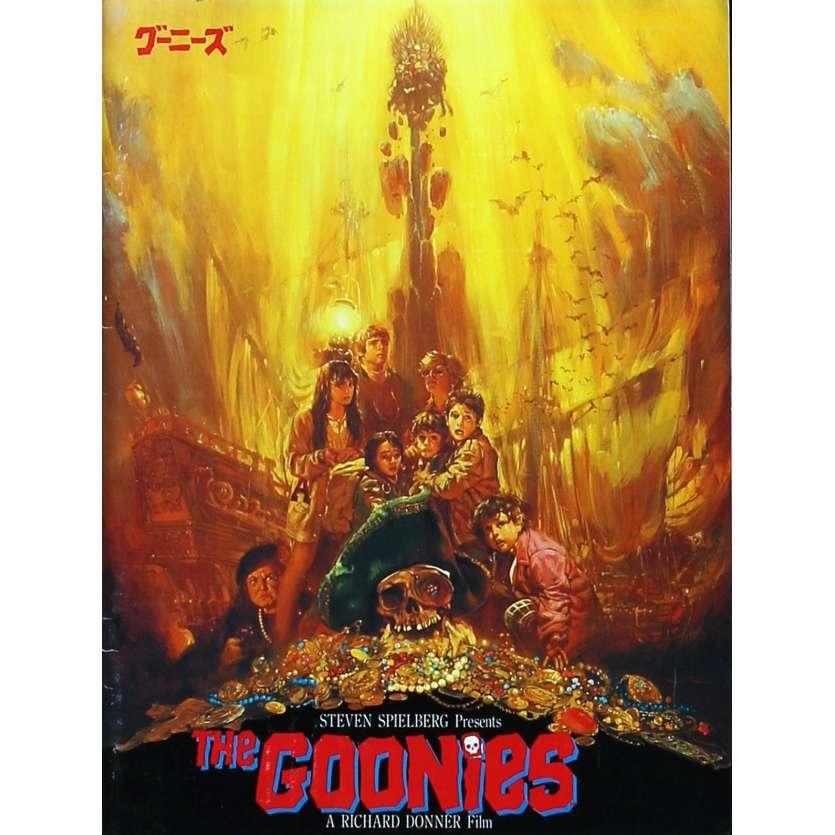 LES GOONIES Programme - 21x30 cm. - 1985 - Sean Astin, Richard Donner
