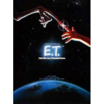 E.T. Original Program - 9x12 in. - 1982 - Steven Spielberg, Dee Wallace