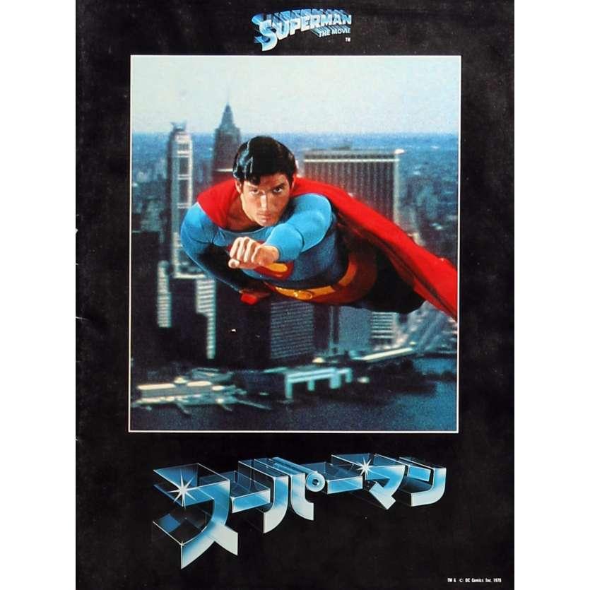 SUPERMAN Original Program - 9x12 in. - 1978 - Richard Donner, Christopher Reeves