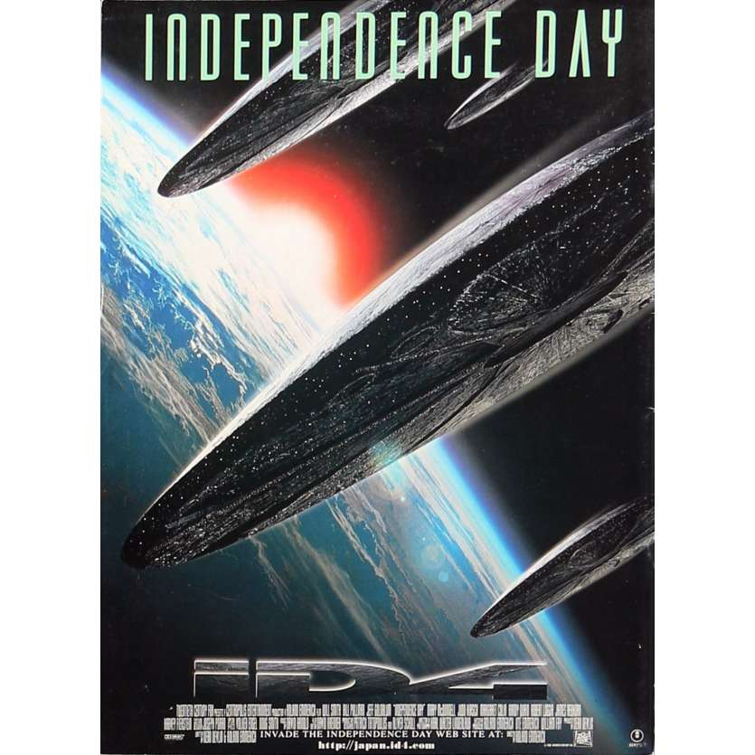 INDEPENDANCE DAY Programme - 21x30 cm. - 1996 - Will Smith, Roland Emmerich