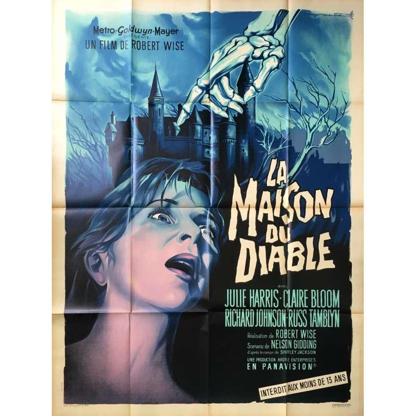 LA MAISON DU DIABLE Affiche de film 120x160 - 1963 - Julie Harris, Robert Wise