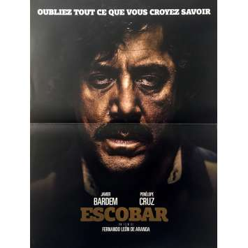 LOVING PABLO Original Movie Poster - 15x21 in. - 2017 - Fernando León de Aranoa, Javier Bardem