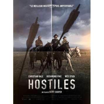 HOSTILES Affiche de film - 40x60 cm. - 2018 - Christian Bale, Scott Cooper